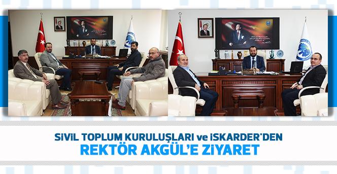 Rektör Akgül'e Ziyaret