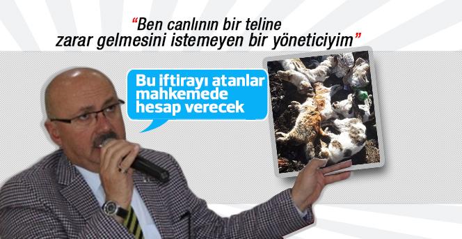 """Başkan Samur: """"Bu iftirayı atanlar mahkemede hesap verecek"""""""