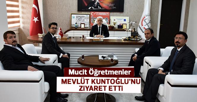 Mucit Öğretmenler Mevlüt Kuntoğlu'nu Ziyaret Etti