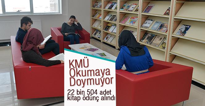 KMÜ Okumaya Doymuyor