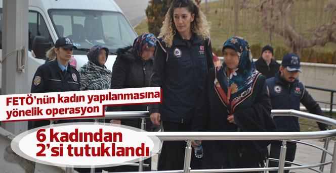 FETÖ'nün kadın yapılanmasına yönelik operasyon: 2 tutuklama