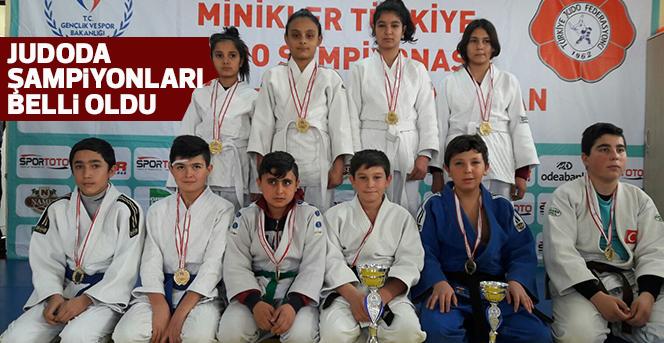 Judoda Şampiyonlar Belli Oldu