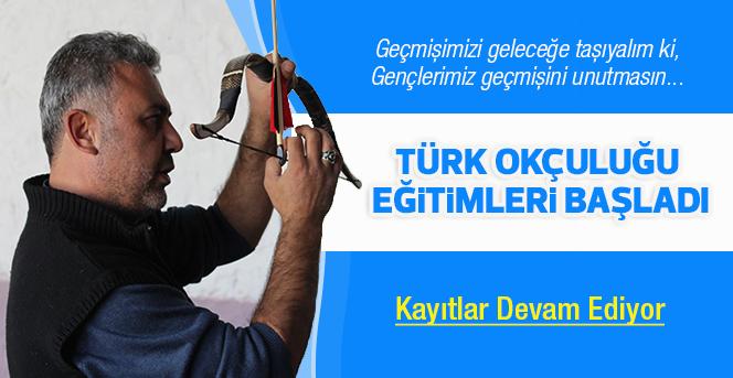 Karaman'da Geleneksel Türk Okçuluğu Eğitimleri Başladı