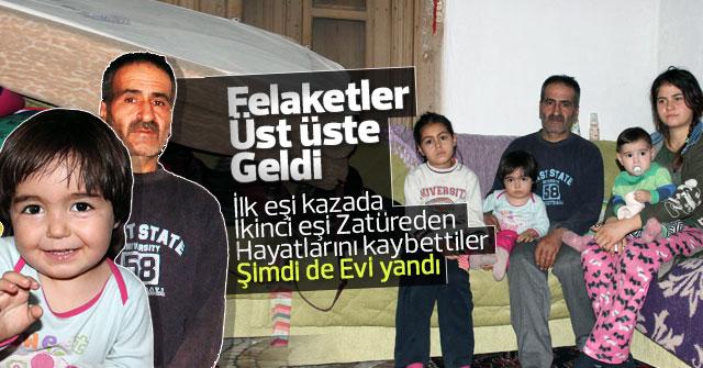 4 çocuğuyla evin bir odasında yaşam mücadelesi veriyor