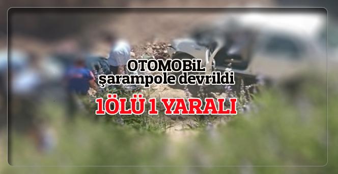 Karaman'da trafik kazası: 1 ölü, 1 yaralı