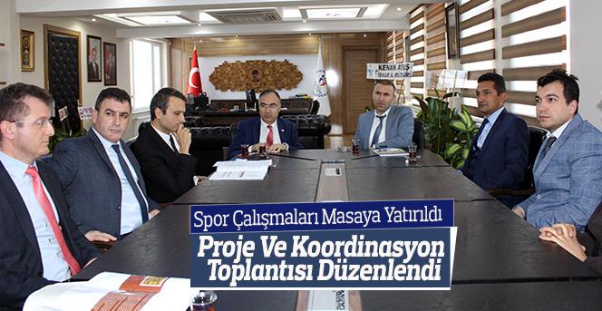 Karaman GHSİM'DE Spor Çalışmaları Masaya Yatırıldı