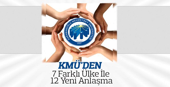 KMÜ'den 7 Farklı Ülke İle 12 Yeni Anlaşma