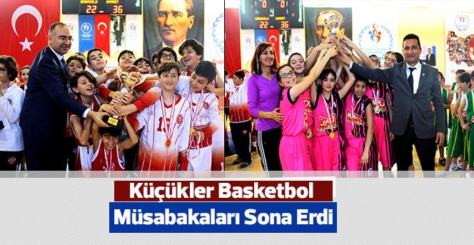 Küçükler Basketbol Müsabakaları Sona Erdi