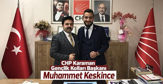 CHP Karaman Gençlik Kolları Devir Teslim Yapıldı