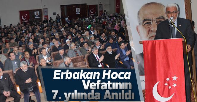 Erbakan Hoca Vefatının  7. yılında Anıldı