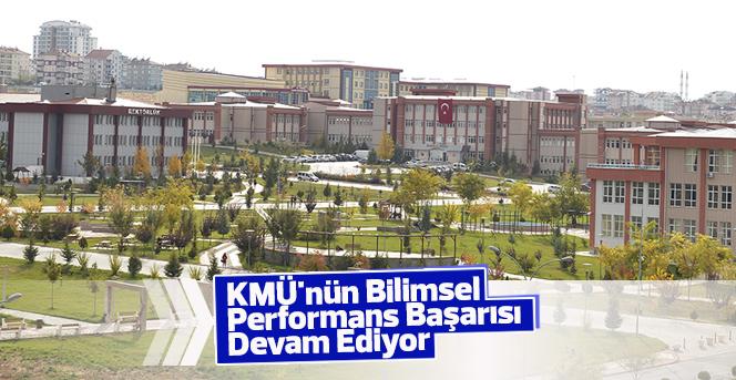 KMÜ'nün Bilimsel Performans Sıralaması