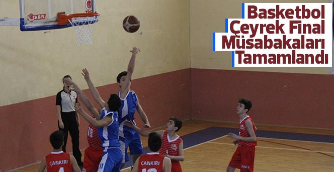 Basketbol Çeyrek Final Müsabakaları Tamamlandı