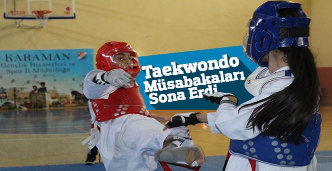 Taekwondo Müsabakaları Sona Erdi