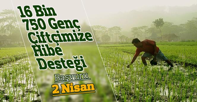 Bu Yıl 16 Bin 750 Genç Çiftçiye  Hibe Desteği