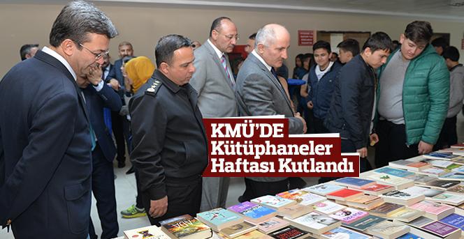 KMÜ'DE Kütüphaneler Haftası Kutlandı