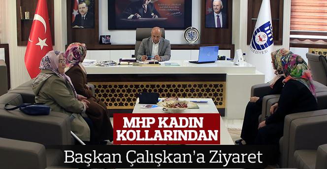 MHP Kadın Kollarından Başkan Çalışkan'a Ziyaret