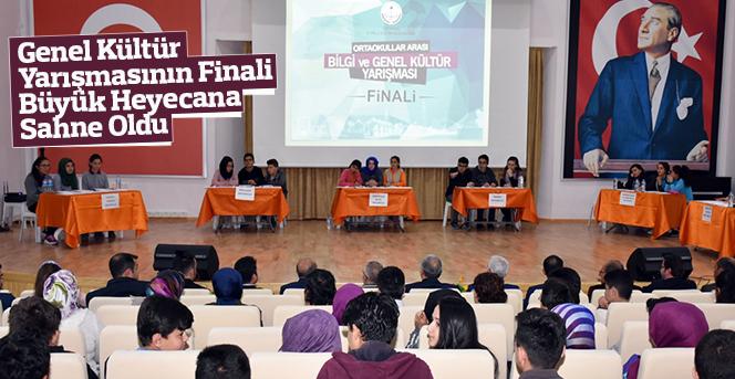 Genel Kültür Yarışmasının Finali Büyük Heyecana Sahne Oldu