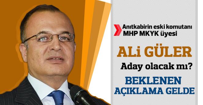 Ali Güler, Beklenen Açıklamayı Yaptı