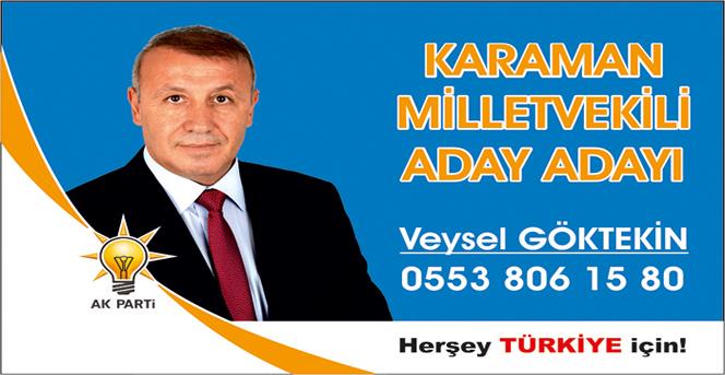 Veysel Göktekin AK Parti den aday adayı oldu