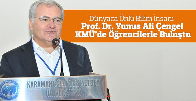 Bilim İnsanı Prof. Dr. Yunus Ali Çengel, Öğrencilerle Buluştu