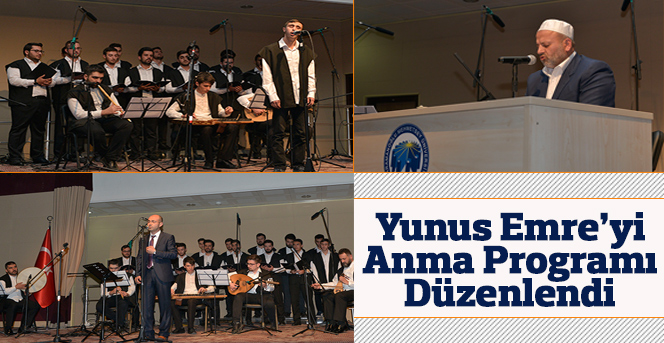 KMÜ'de Yunus Emre'yi Anma Programı