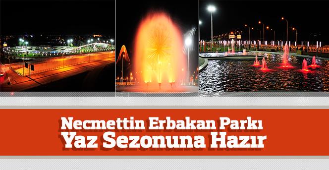 Necmettin Erbakan Parkı Yaz Sezonuna Hazır