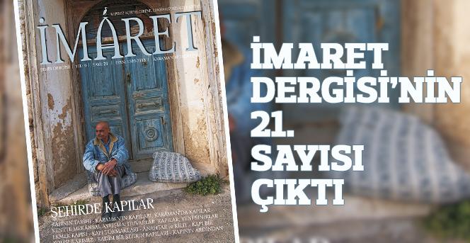 İmaret Dergisi'nin 21. Sayısı Çıktı