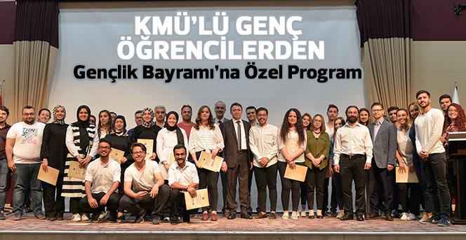 KMÜ'de Gençlik Bayramı'na Özel Program