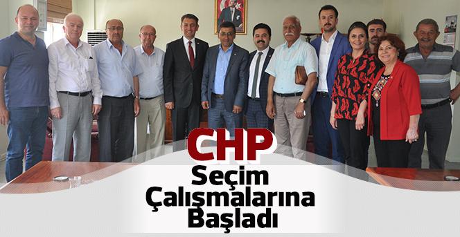 CHP Seçim Çalışmalarına Başladı