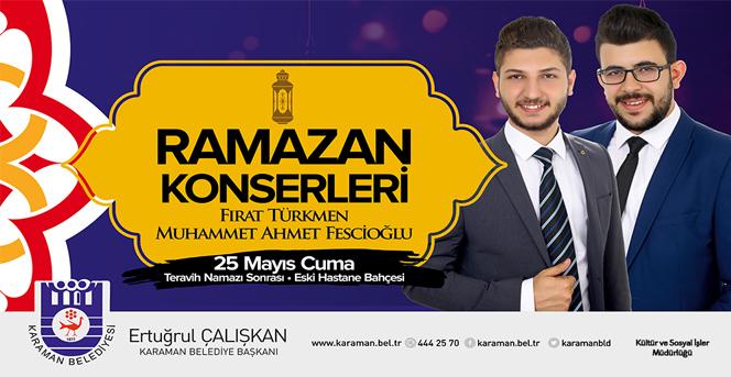 Ramazan Etkinliklerinde İlk Konser Cuma Günü