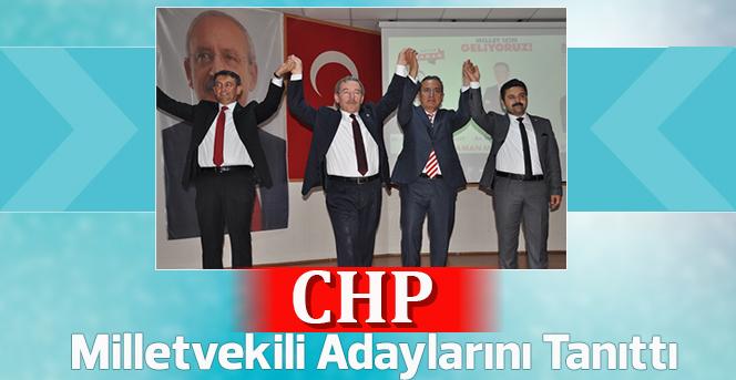 CHP Milletvekili Adaylarını Tanıttı