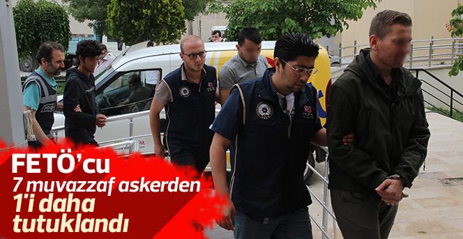 Karaman'da FETÖ'den 1 muvazzaf asker daha tutuklandı