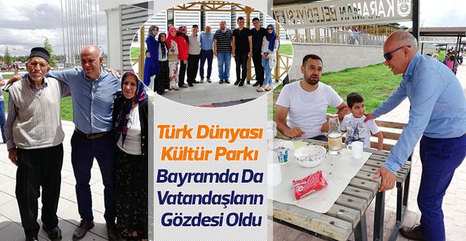 Kültür Parkı Bayramda Vatandaşların Gözdesi Oldu