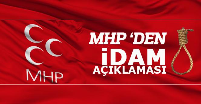 MHP'den flaş