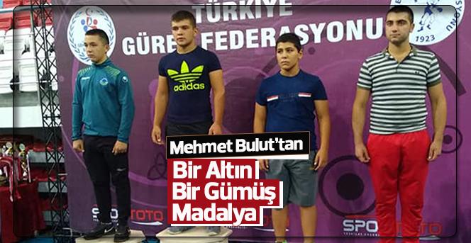 Mehmet Bulut'tan Bir Altın, Bir Gümüş Madalya
