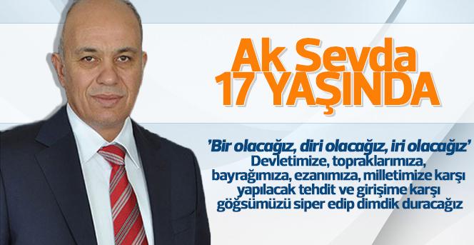 Başkan Çalışkan AK Parti'nin Kuruluş Yıldönümünü Kutladı