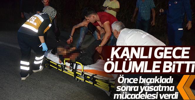 Bıçakladığı kişiye ölmesin diye olay yerinde suni teneffüs yaptı