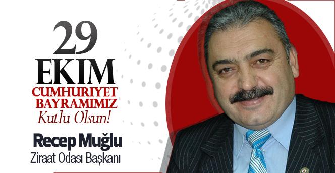 Başkan MUĞLU'nun 29 Ekim Cumhuriyet Bayramı Kutlama Mesajı