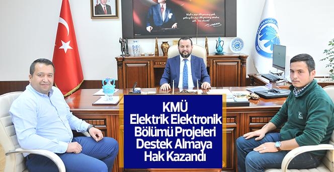 KMÜ 'Gençlik Projeleri Programı'ndan destek almaya hak kazandı.
