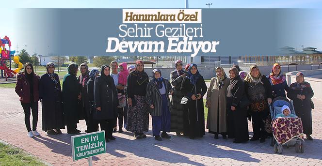 Şehir Gezilerine Zembilli Ali Efendi Mahallesi Hanımları Katıldı