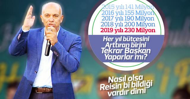 Karaman Belediyesinin bütçesi her yıl arttı
