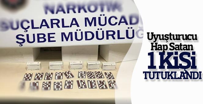 Karaman'da Uyuşturucu hap satan 1 kişi tutuklandı