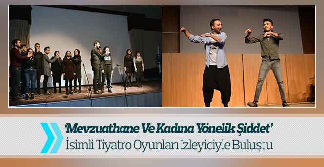 KMÜ'den Tiyatro Gösterimi İzleyiciyle Buluştu