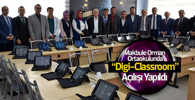 """Makbule Orman Ortaokulundan """"Digi-Classroom"""""""
