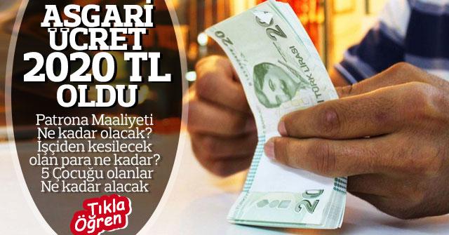 Yeni Asgari ücretin işçiye ve iş verene maliyeti