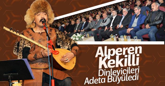 Alperen Kekilli Konseri Dinleyicileri Büyüledi