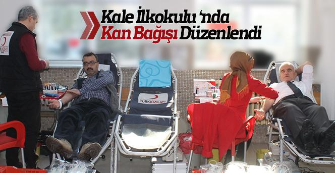 Kale İlkokulunda Kan Bağışı Kampanyası Gerçekleştirildi