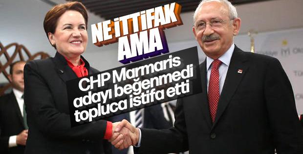 CHP'de deprem sürüyor: Marmaris ilçe yönetimi istifa etti