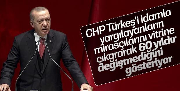 Erdoğan İl Seçim İşleri Başkanları Toplantısı'nda