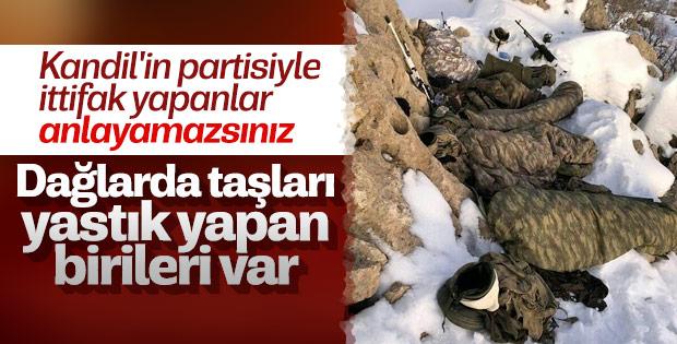 Mehmetçik terörist avında